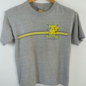 Vintage Pokémon Pikachu Youth M T-Shirt